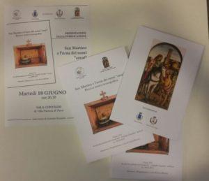 """Libro """"San Martino e l'urna dei nomi cavai"""""""