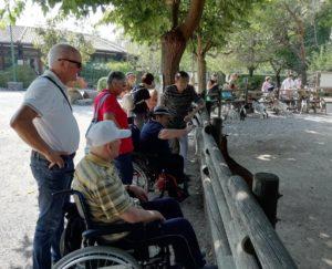 Uscita allo zoo con ospiti Casa Marani Paese